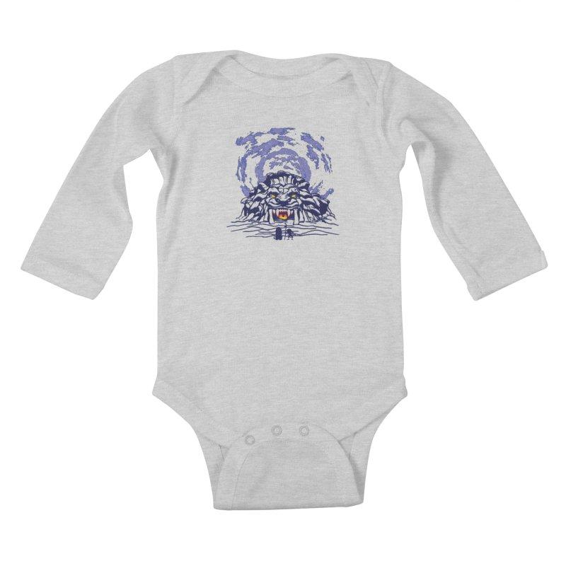 Mufasa's Cave Kids Baby Longsleeve Bodysuit by Daletheskater