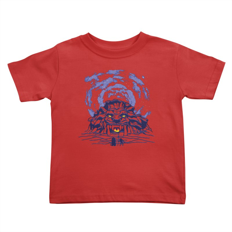 Mufasa's Cave Kids Toddler T-Shirt by Daletheskater