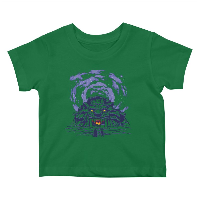 Mufasa's Cave Kids Baby T-Shirt by Daletheskater