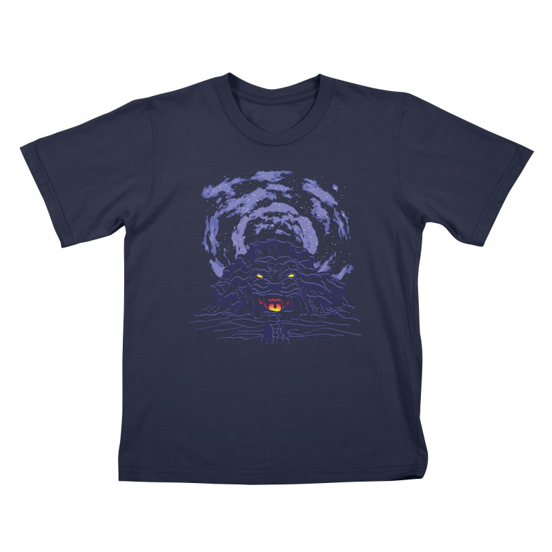 Mufasa's Cave Kids T-Shirt by Daletheskater