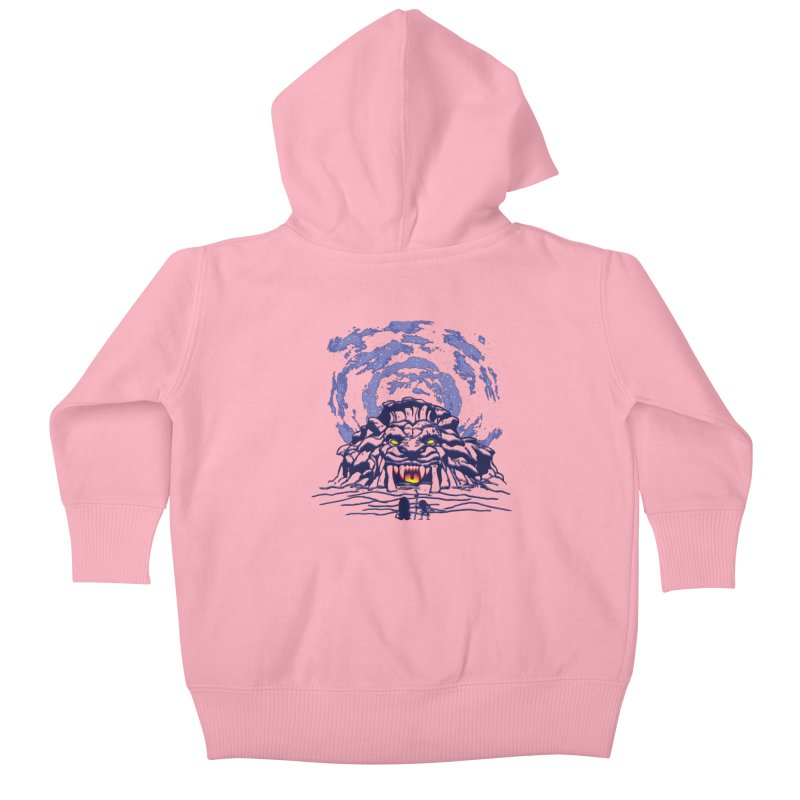 Mufasa's Cave Kids Baby Zip-Up Hoody by Daletheskater
