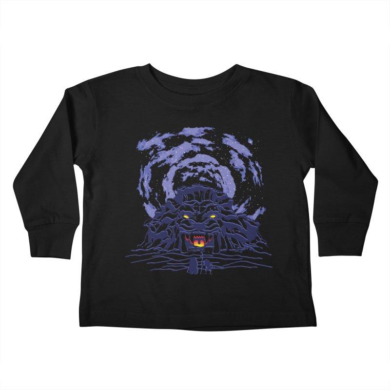 Mufasa's Cave Kids Toddler Longsleeve T-Shirt by Daletheskater