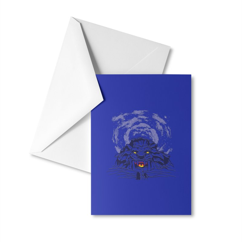 Mufasa's Cave Accessories Greeting Card by Daletheskater