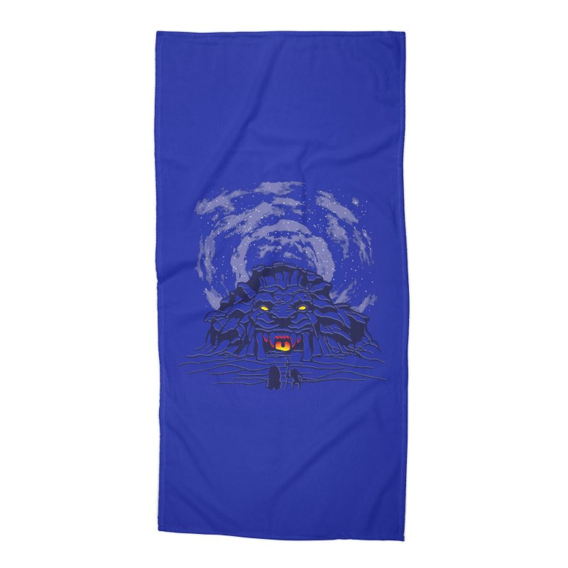 Mufasa's Cave Accessories Beach Towel by Daletheskater