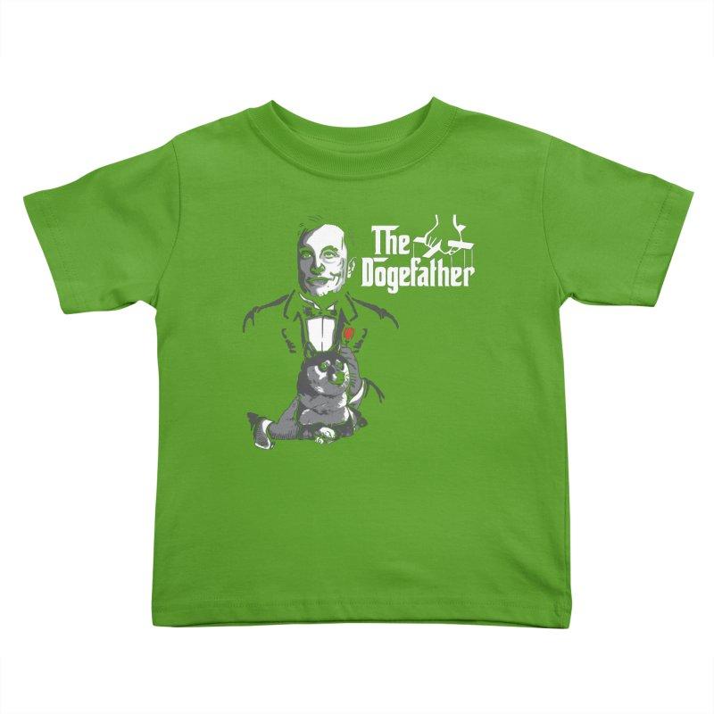 The Dogefather Kids Toddler T-Shirt by Daletheskater