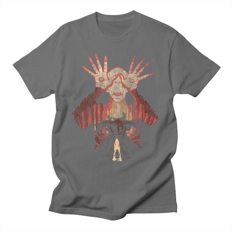 Horrific Tale Men's T-Shirt by Daletheskater