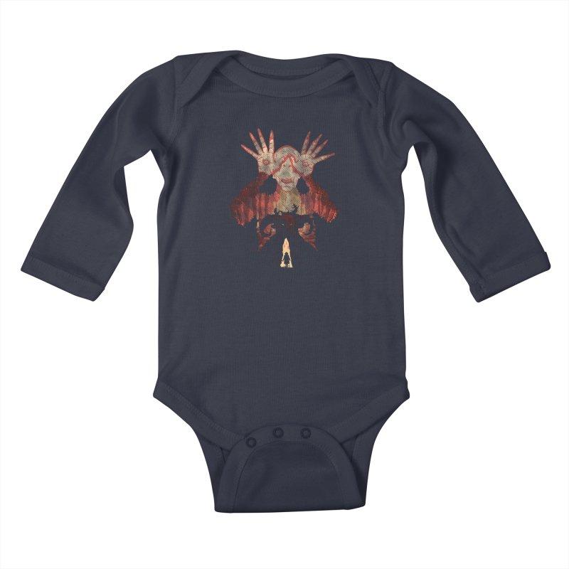 Horrific Tale Kids Baby Longsleeve Bodysuit by Daletheskater