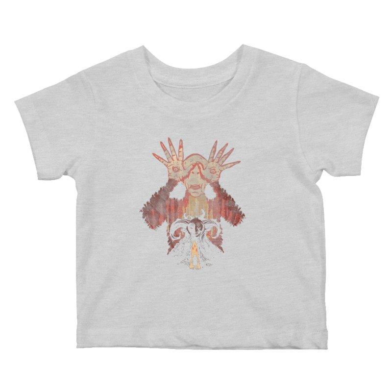Horrific Tale Kids Baby T-Shirt by Daletheskater