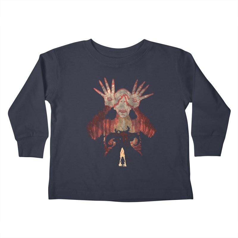 Horrific Tale Kids Toddler Longsleeve T-Shirt by Daletheskater