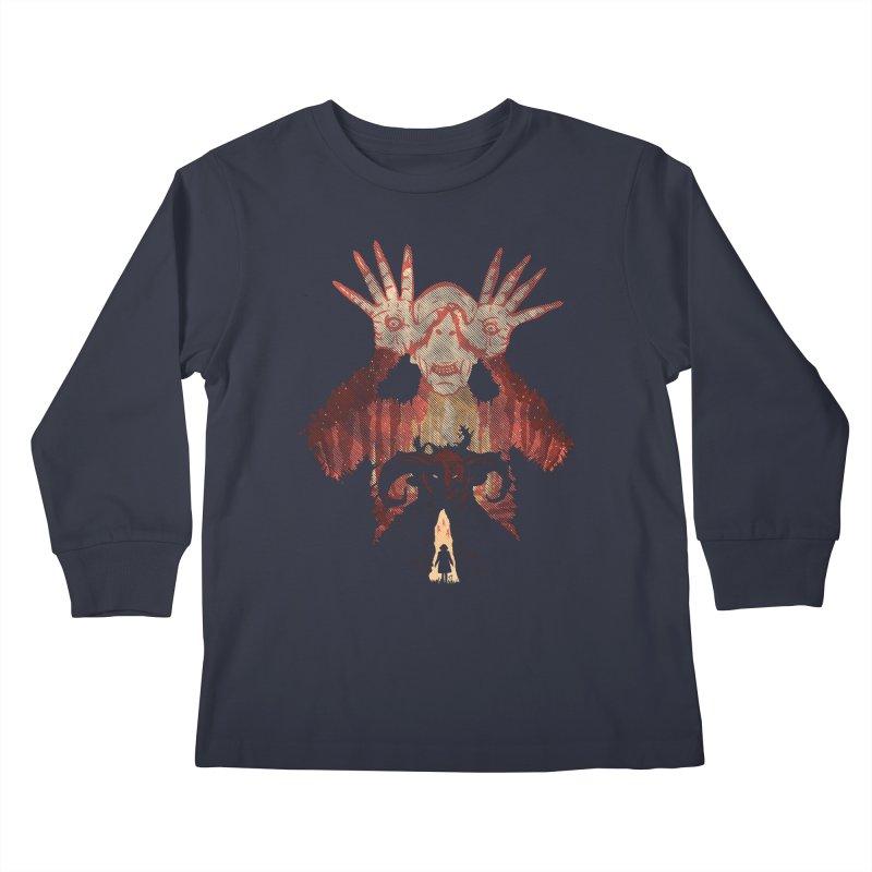 Horrific Tale Kids Longsleeve T-Shirt by Daletheskater