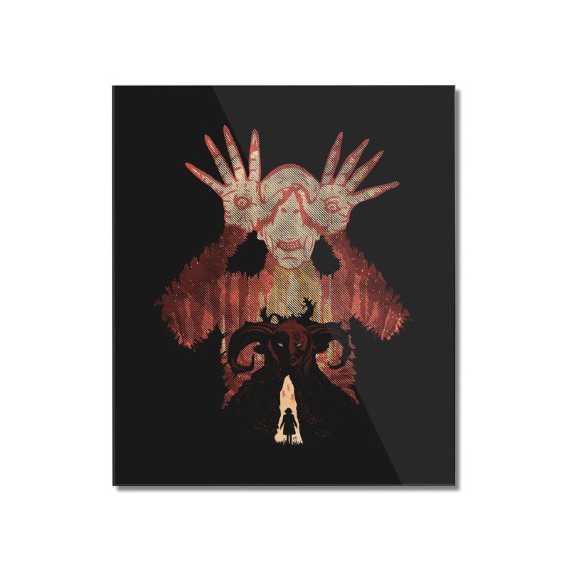 Horrific Tale Home Mounted Acrylic Print by Daletheskater
