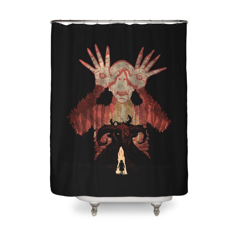 Horrific Tale Home Shower Curtain by Daletheskater