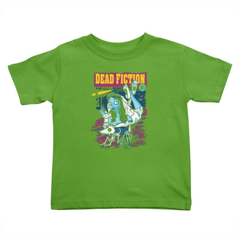 Dead Fiction Kids Toddler T-Shirt by Daletheskater
