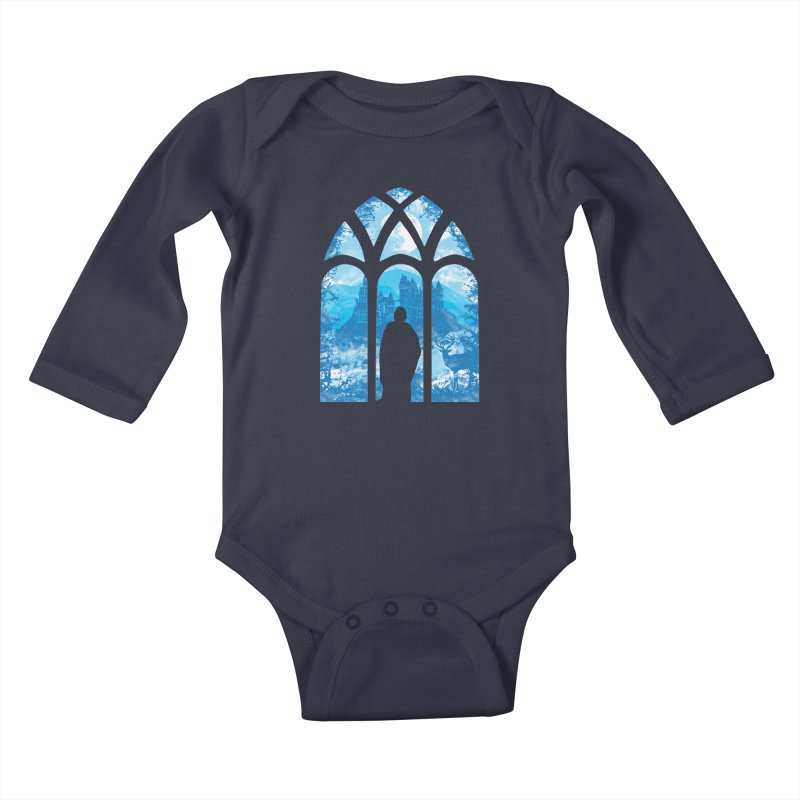 Remember Kids Baby Longsleeve Bodysuit by Daletheskater