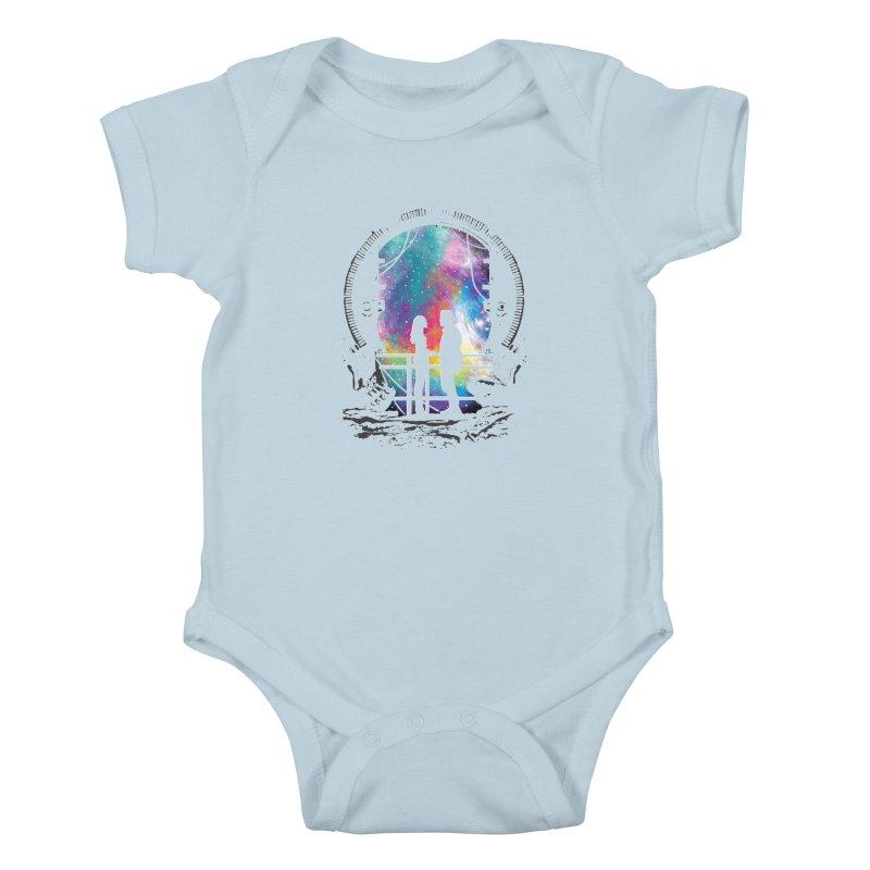 Universal Alignment Kids Baby Bodysuit by Daletheskater