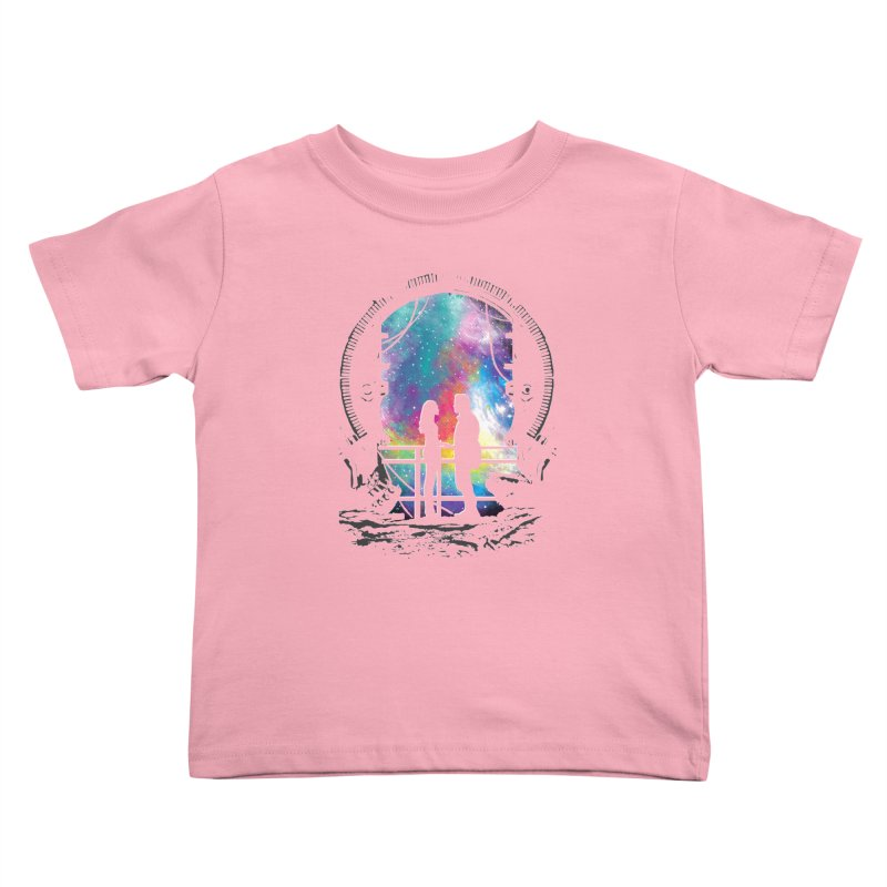Universal Alignment Kids Toddler T-Shirt by Daletheskater