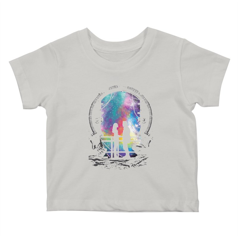 Universal Alignment Kids Baby T-Shirt by Daletheskater