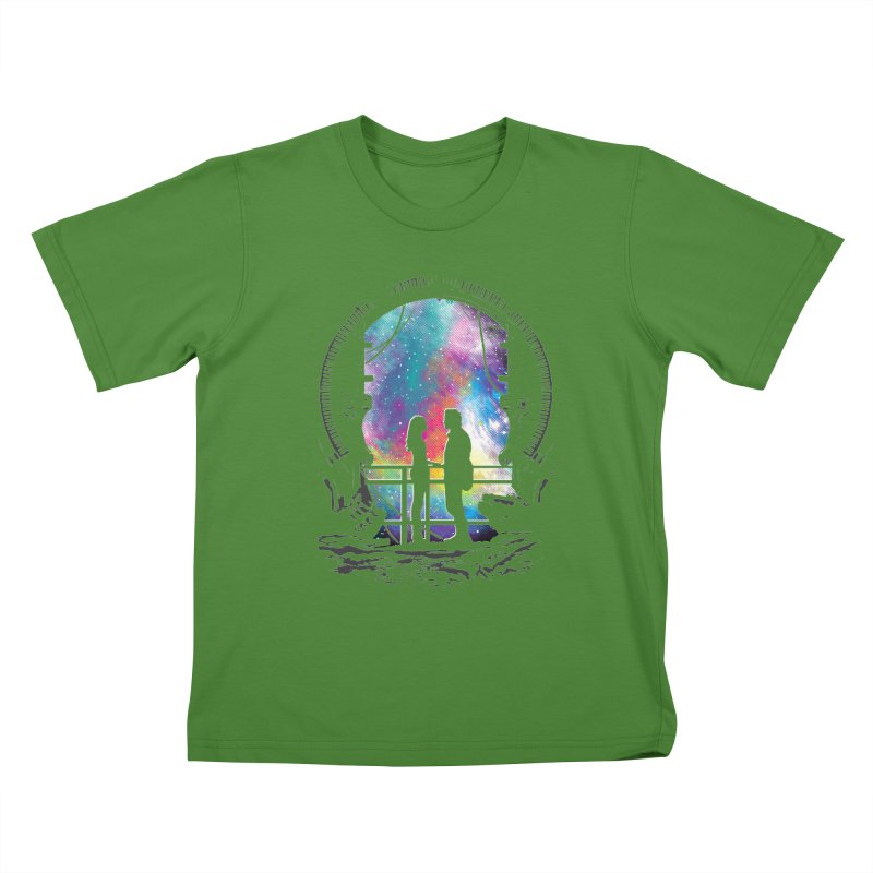 Universal Alignment Kids T-shirt by Daletheskater