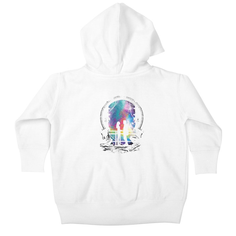 Universal Alignment Kids Baby Zip-Up Hoody by Daletheskater