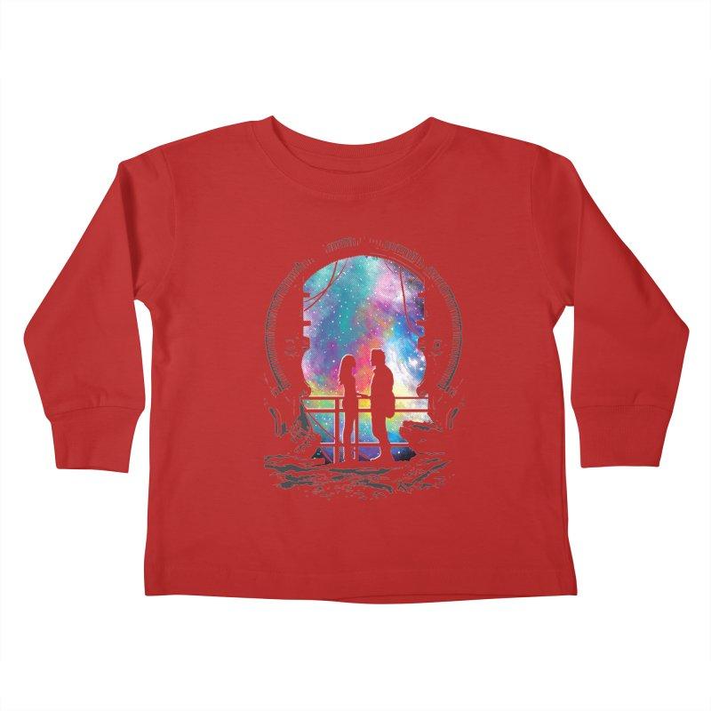 Universal Alignment Kids Toddler Longsleeve T-Shirt by Daletheskater
