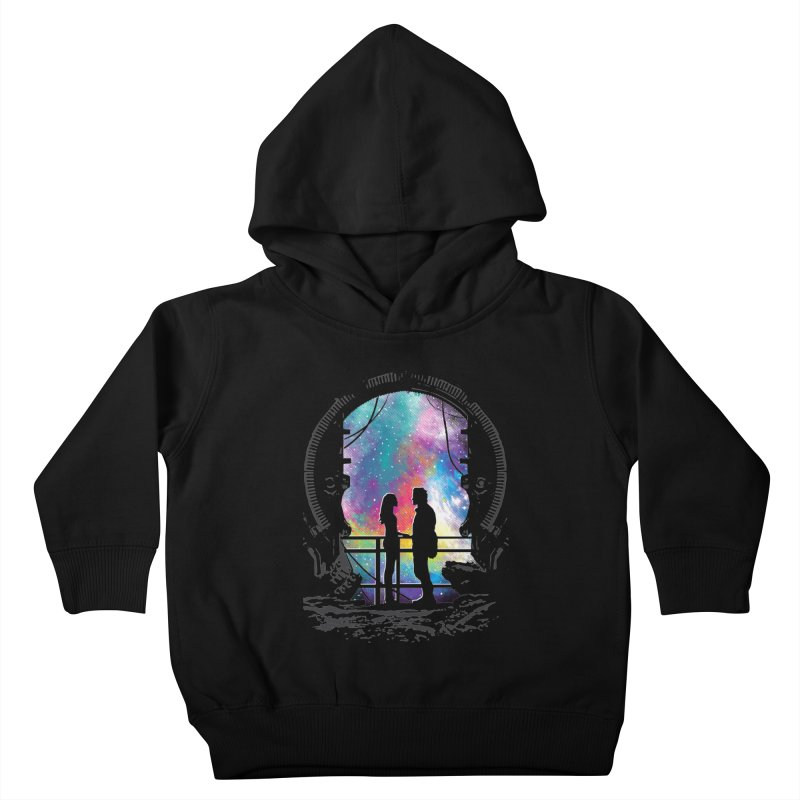 Universal Alignment Kids Toddler Pullover Hoody by Daletheskater
