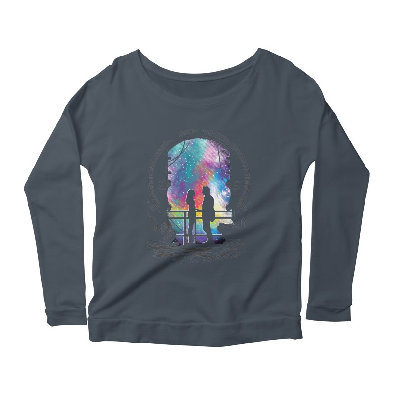 Universal Alignment Women's Longsleeve Scoopneck  by Daletheskater