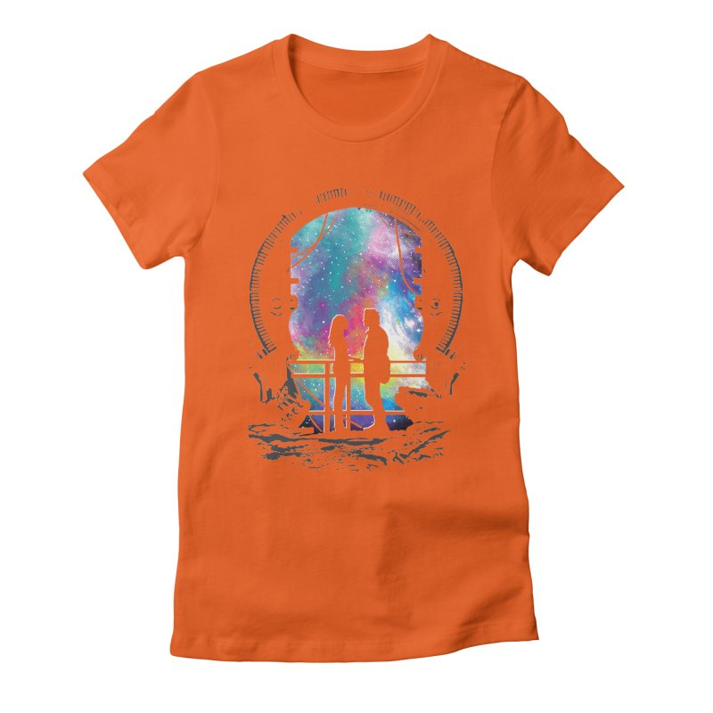 Universal Alignment Women's Fitted T-Shirt by Daletheskater