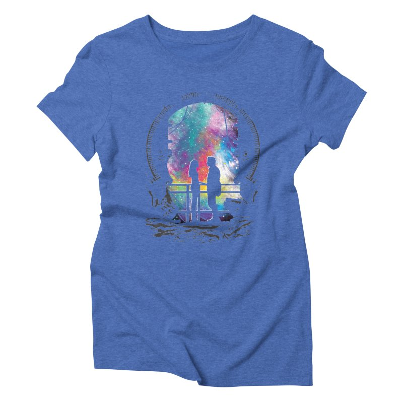 Universal Alignment Women's Triblend T-shirt by Daletheskater