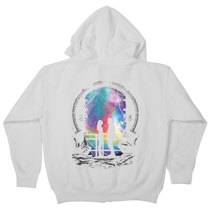 Universal Alignment Kids Zip-Up Hoody by Daletheskater