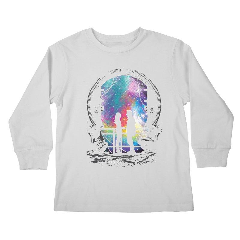Universal Alignment Kids Longsleeve T-Shirt by Daletheskater