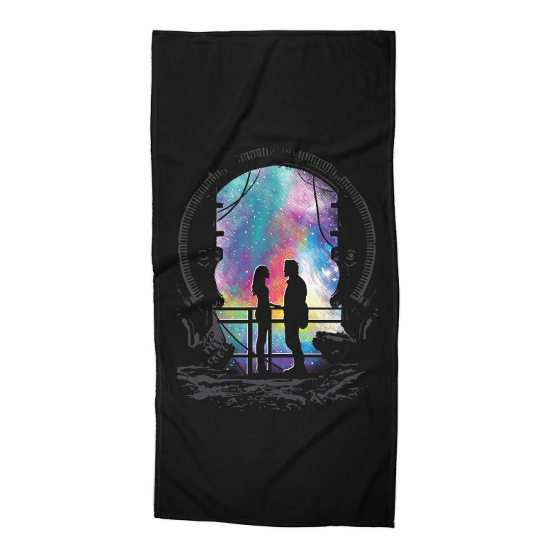 Universal Alignment Accessories Beach Towel by Daletheskater