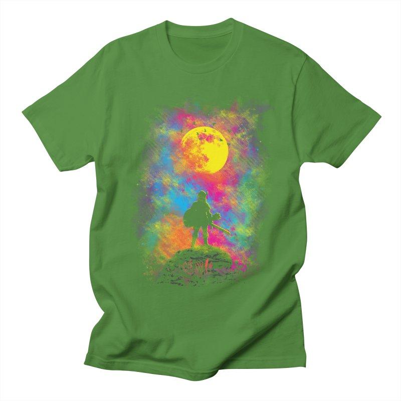 Wild World Men's T-shirt by Daletheskater