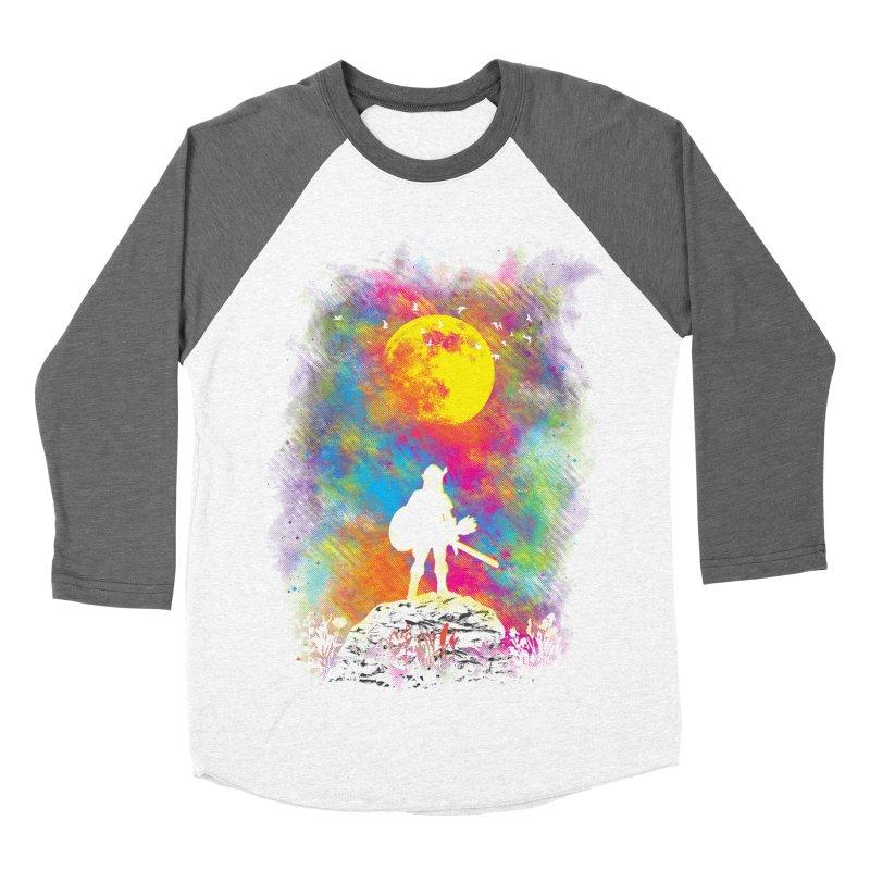 Wild World Women's Baseball Triblend T-Shirt by Daletheskater