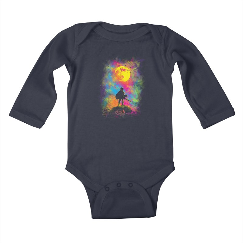 Wild World Kids Baby Longsleeve Bodysuit by Daletheskater