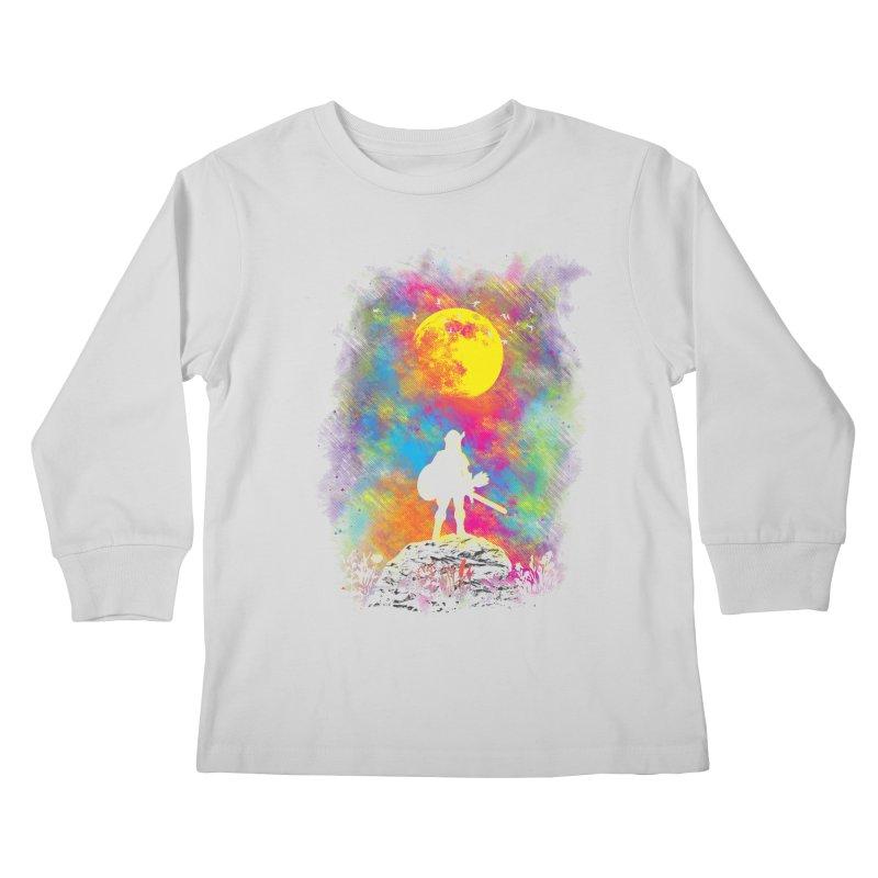 Wild World Kids Longsleeve T-Shirt by Daletheskater