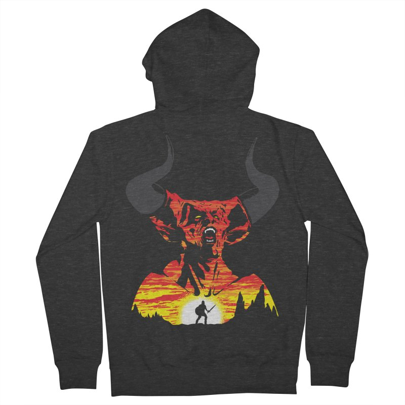 The Darkness Men's Zip-Up Hoody by Daletheskater