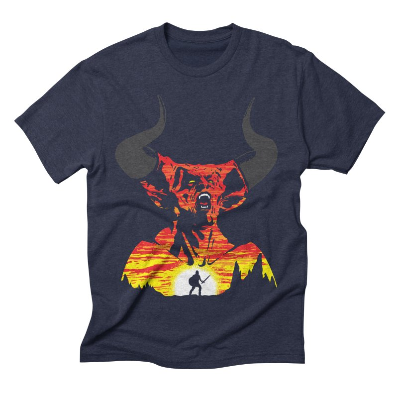 The Darkness Men's Triblend T-Shirt by Daletheskater