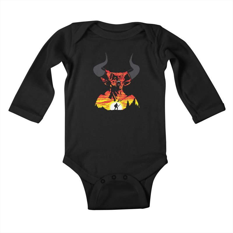The Darkness Kids Baby Longsleeve Bodysuit by Daletheskater