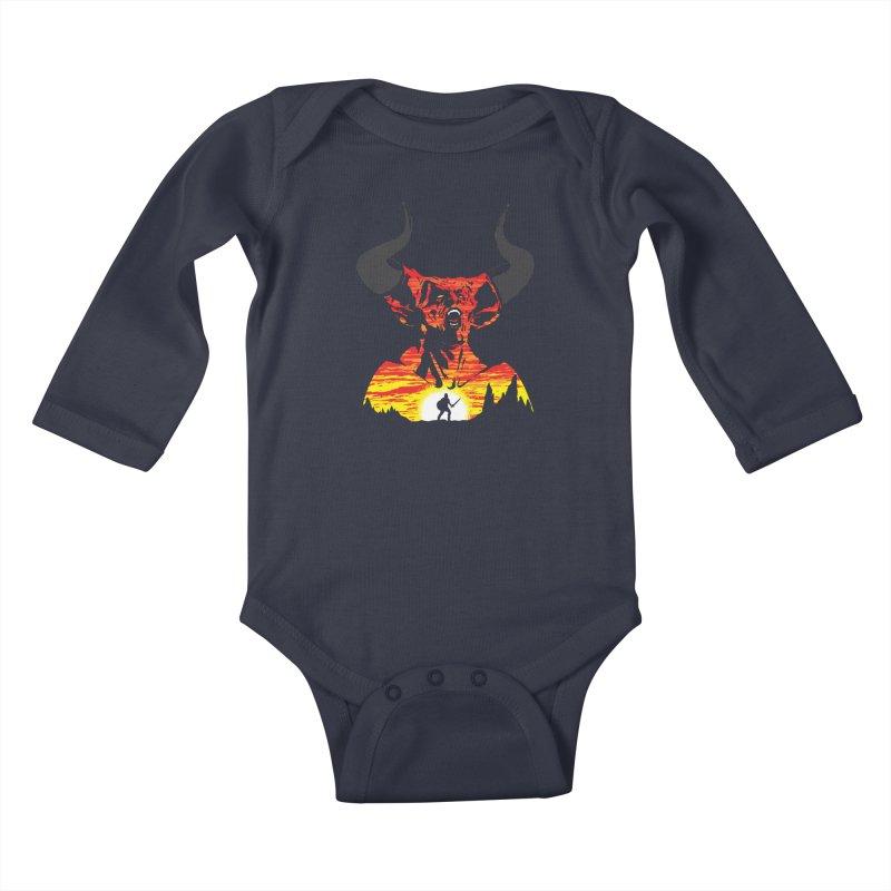 The Darkness Kids Baby Longsleeve Bodysuit by Daletheskater