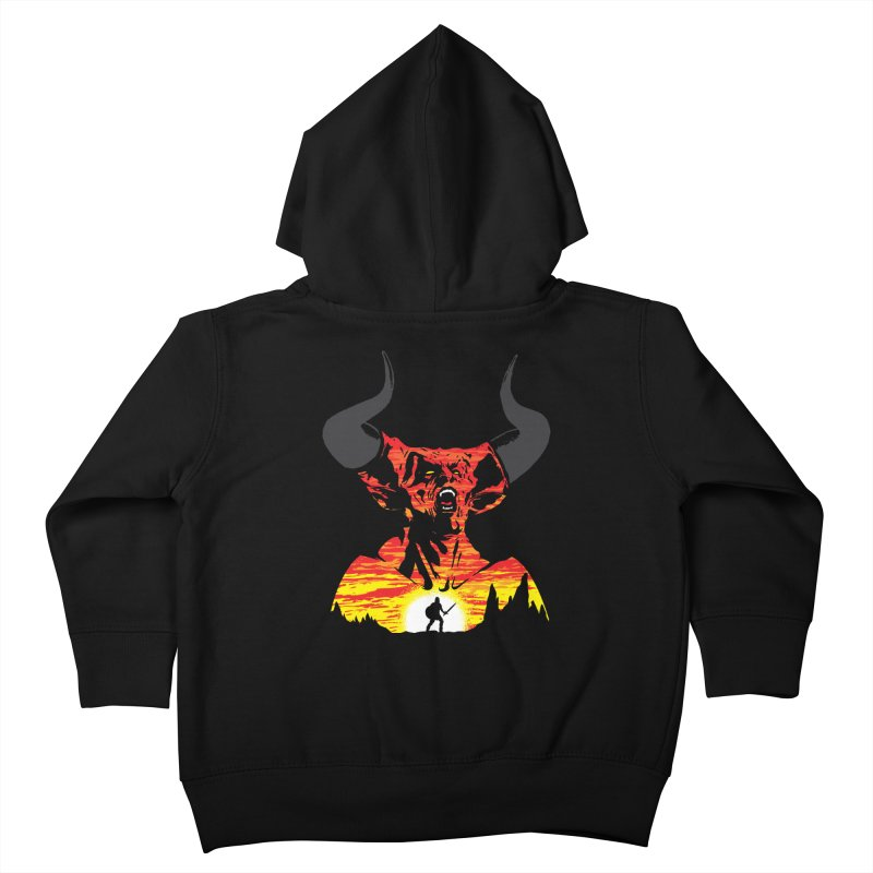 The Darkness Kids Toddler Zip-Up Hoody by Daletheskater