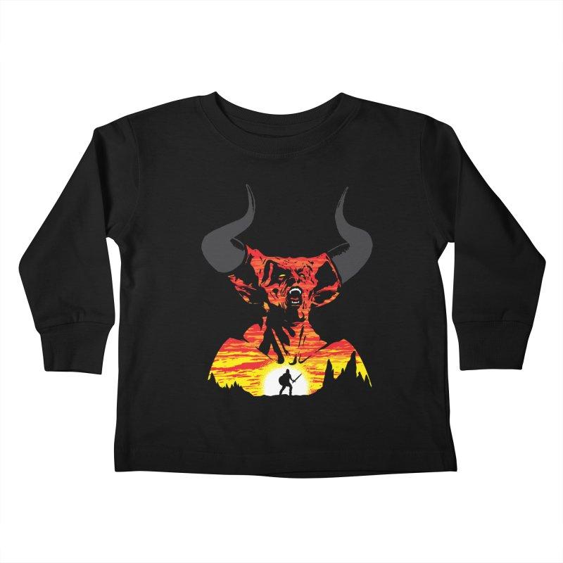 The Darkness Kids Toddler Longsleeve T-Shirt by Daletheskater