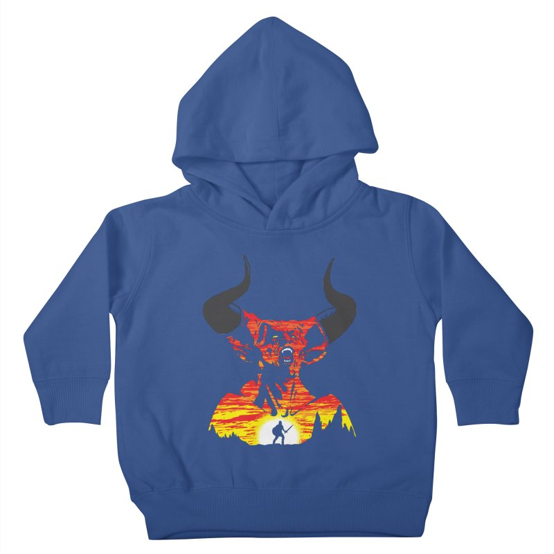 The Darkness Kids Toddler Pullover Hoody by Daletheskater