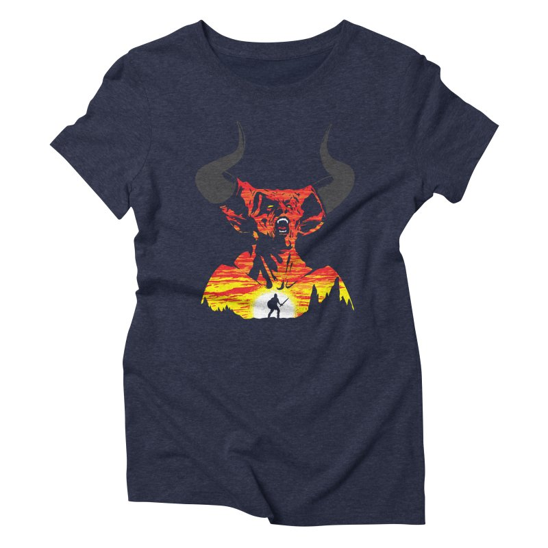 The Darkness Women's Triblend T-Shirt by Daletheskater