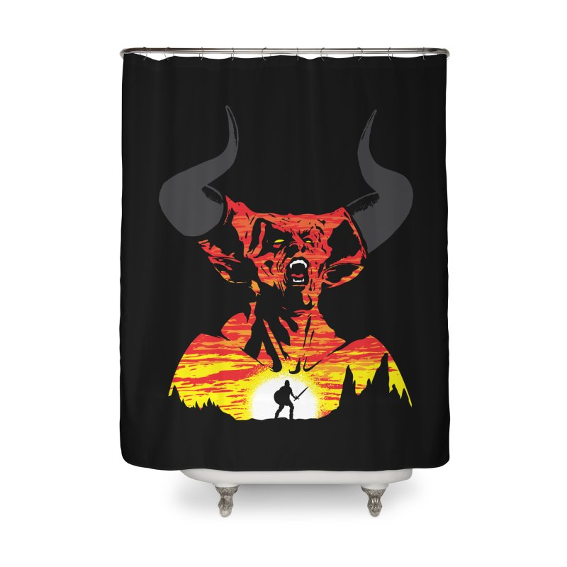 The Darkness Home Shower Curtain by Daletheskater