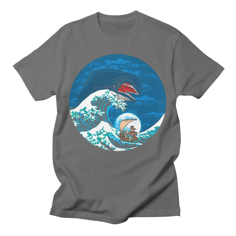 The Great Wave Of Monstro Women's T-Shirt by Daletheskater
