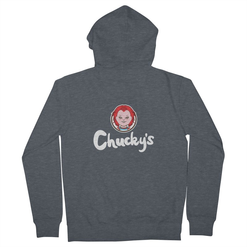 Wanna Eat? Men's Zip-Up Hoody by Daletheskater