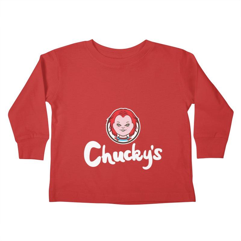 Wanna Eat? Kids Toddler Longsleeve T-Shirt by Daletheskater