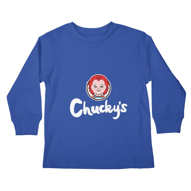 Wanna Eat? Kids Longsleeve T-Shirt by Daletheskater