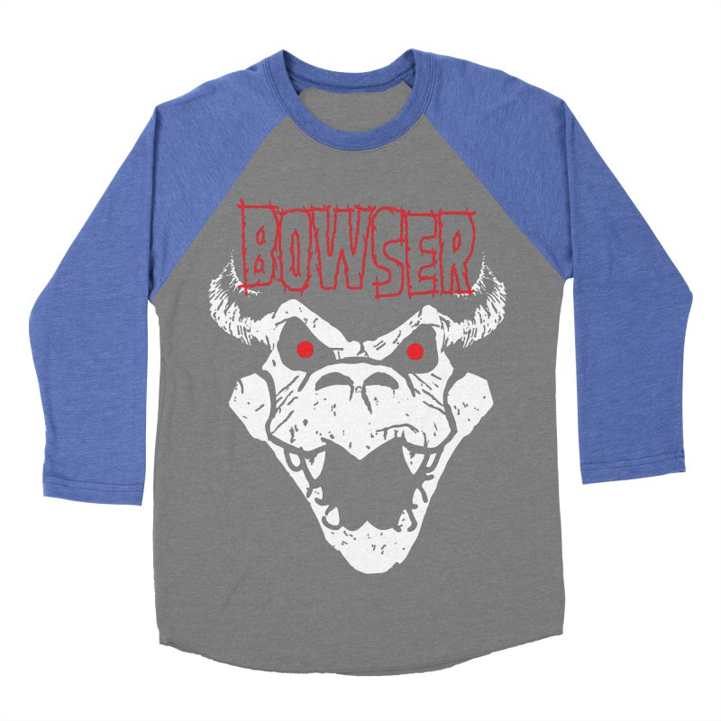 Bowzig Men's Baseball Triblend T-Shirt by Daletheskater