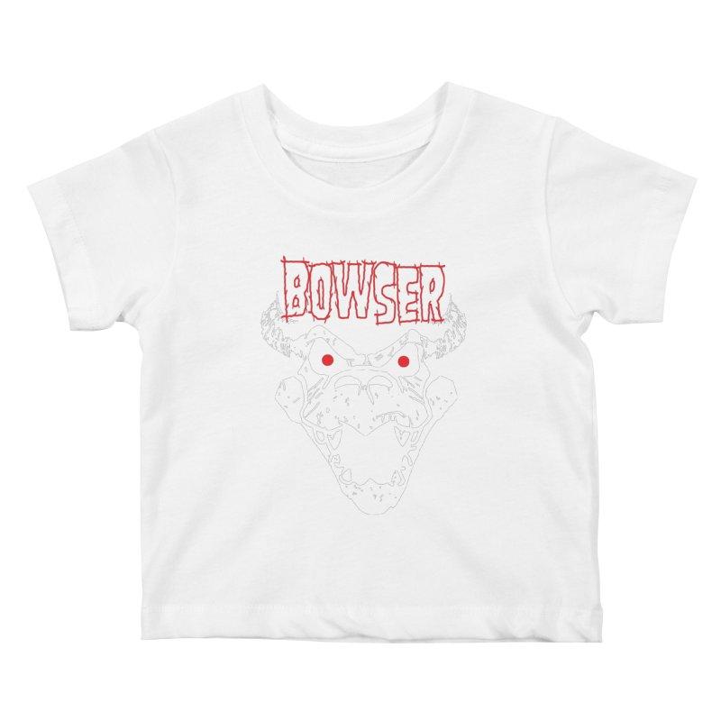 Bowzig Kids Baby T-Shirt by Daletheskater